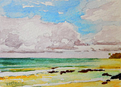 Haleiwa Painting - Kanaha Skies by Stacy Vosberg