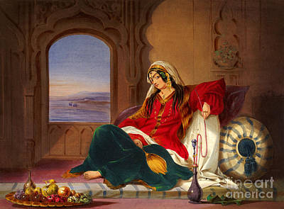 Kandahar Lady Of Ranks Print by Celestial Images