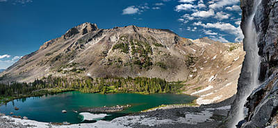Kane Lake Panoramic Print by Leland D Howard