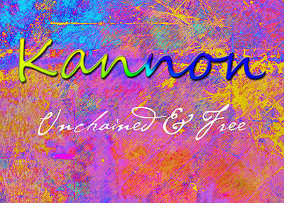 Kannon - Unchained And Free Print by Christopher Gaston