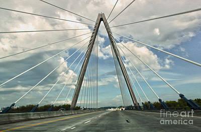 Kansas City Bridge - 01 Print by Gregory Dyer