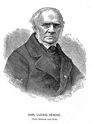 Karl Ludwig Hencke Print by Universal History Archive/uig