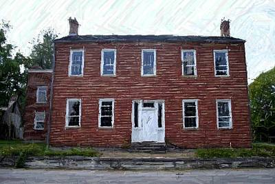 Karrick Parks House - Perryville Ky Print by Thia Stover