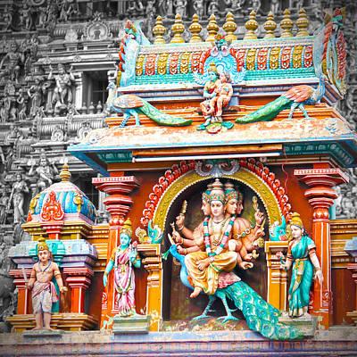 Hindu Photograph - Kartikeya In Chennai by Karen Anderson