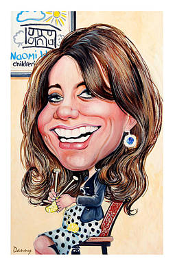 Kate Middleton. Duchess Of Cambridge Print by Daniel Byrne