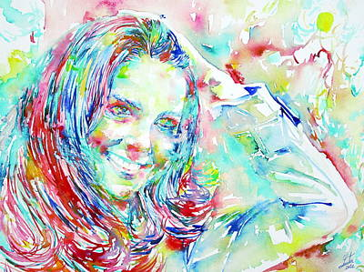 Catherine Middleton Painting - Kate Middleton Portrait.1 by Fabrizio Cassetta
