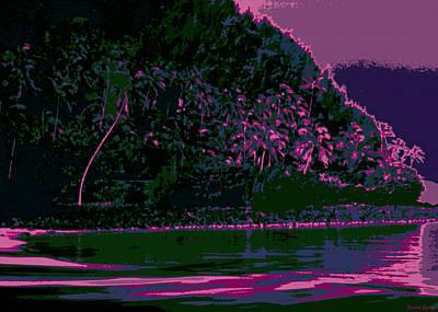 Kauai Digital Art - Kauluwela Moku 59 by Kenneth Grzesik
