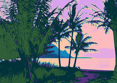 Landscape Digital Art - Kauluwela Moku 73 by Kenneth Grzesik