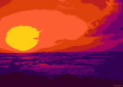 Landscape Digital Art - Kauluwela Moku 87 by Kenneth Grzesik