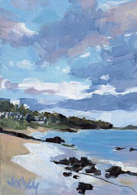 Haleiwa Painting - Keawakapu Beach by Stacy Vosberg