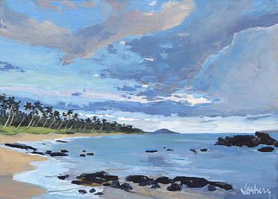 Haleiwa Painting - Keawekapu North Sunset by Stacy Vosberg
