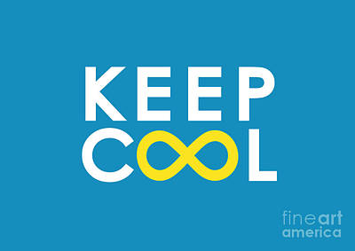 Keep Cool Forever Print by Nava Seas