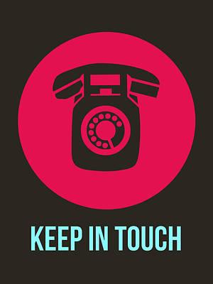 Boom Digital Art - Keep In Touch 1 by Naxart Studio