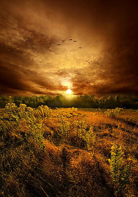 Keep Me In Your Heart Print by Phil Koch