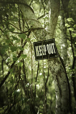 Keep Out Island Print by Trish Mistric