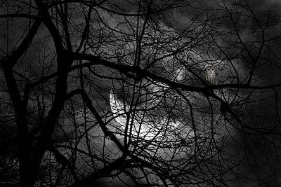 Moonlight Photograph - Keeper Of Spirits by Lourry Legarde
