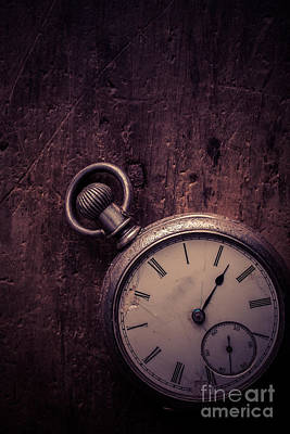 Old Objects Photograph - Keeping Time by Edward Fielding