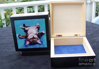 Etc Mixed Media - Keepsake Box by Pat Saunders-White