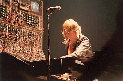Keith Emerson Print by Alfred Dominic Ligammari II