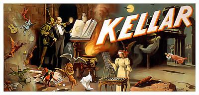 Kellar Print by Terry Reynoldson
