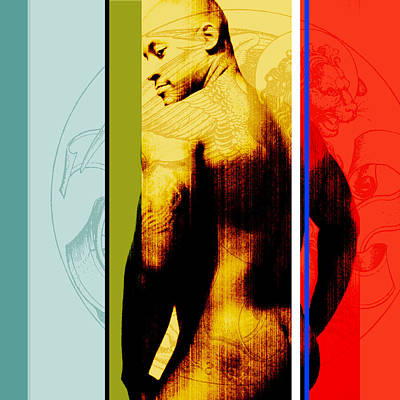 Nude Men Photograph - Kelvin by Chris  Lopez