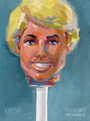 Barbie Painting - Ken On A Stick by Kimberly Santini