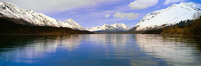 Kenai Lake, Kenai Peninsula, Alaska Print by Panoramic Images
