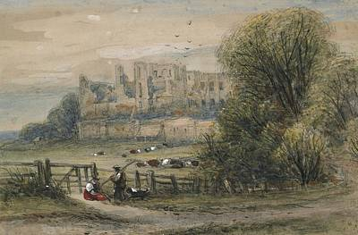 Fence Drawing - Kenilworth by James Orrock