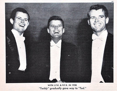 Teddie Photograph - Kennedy Brothers 1947 by Roland Dupree