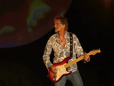 Fender Strat Photograph - Kenny Loggins by Bill Gallagher