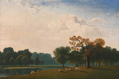 John Martin Painting - Kensington Gardens by John Martin