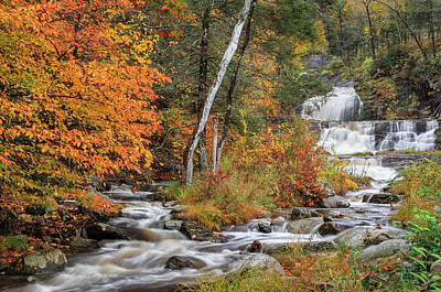 Kent Falls State Park Print by Bill Wakeley