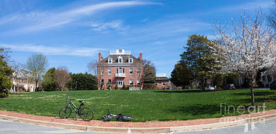 Kentlands Mansion  Spring 2014 Print by Thomas Marchessault