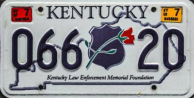 Enforcement Painting - Kentucky Law Enforcement Memorial Foundation by Lanjee Chee