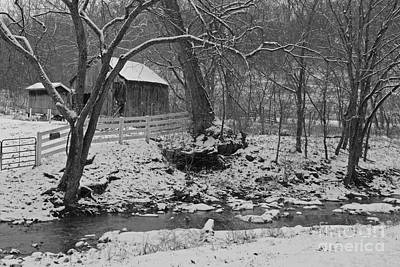Kentucky Snow Print by Mary Carol Story