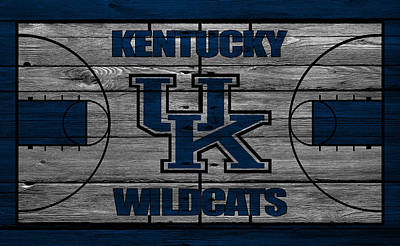 Benches Photograph - Kentucky Wildcats by Joe Hamilton