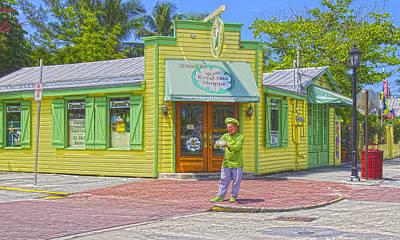Kermit  Key Lime Pie Store Original by Pavel Trostyanskiy