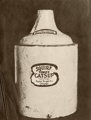 Ketchup Bottle Print by Us National Archives