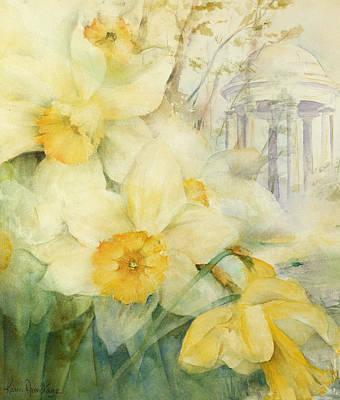 Temple Painting - Kew Gardens by Karen Armitage
