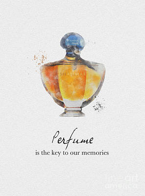 Key To Our Memories Print by Rebecca Jenkins