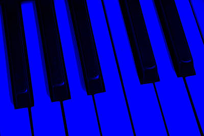 Ragtime Photograph - Keyboard Blues by John Stephens