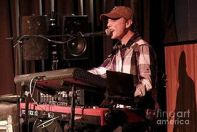 Photograph - Keyboardist Matt Zeiner  by Concert Photos