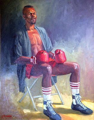 Kickboxer Print by Leona Turner