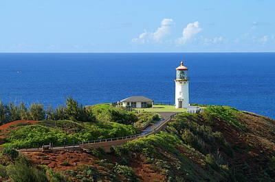 Kilauea Lighthouse Print by Shahak Nagiel