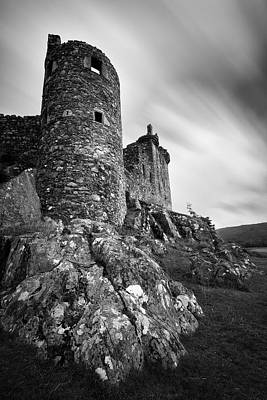 15th Century Photograph - Kilchurn Castle Walls by Dave Bowman