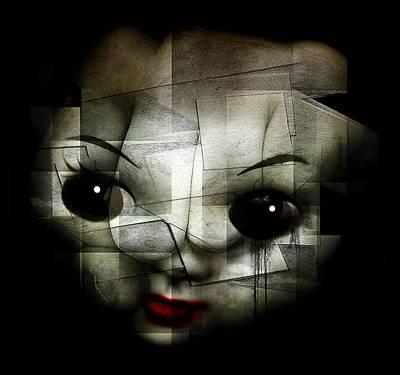Lips Digital Art - Kill The Clown by Johan Lilja