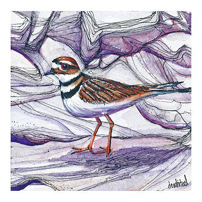 Killdeer Original by Dave Whited