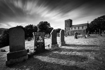 Gravestone Photograph - Kilmartin Parish Church by Dave Bowman