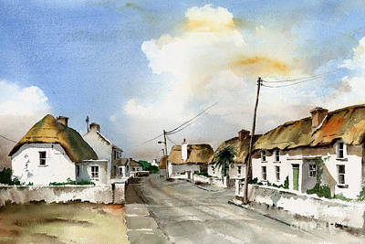 Tour Ireland Painting - Kilmore Quay Wexford by Val Byrne