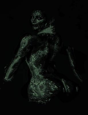 Kim Kardashian Digital Art - Kim Kardashian 1b by Brian Reaves